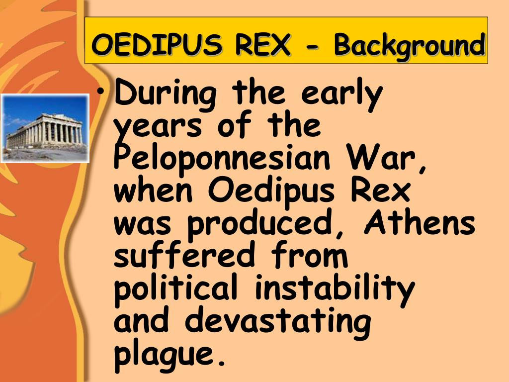 morality in oedipus rex essay Akira oliver, 2a oedipus rex theme essay many individuals often question the purpose of moral responsibility in general, the topic of one's relationship with morality.