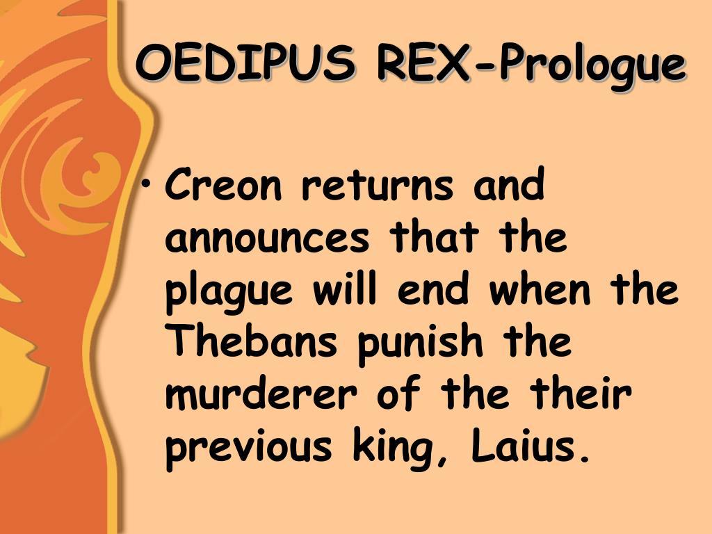 oedipus rex paper