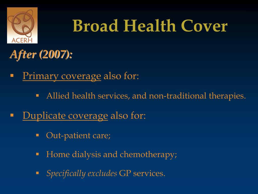 Broad Health Cover