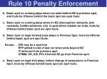 rule 10 penalty enforcement68