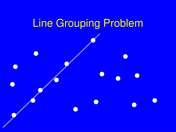 Line Grouping Problem