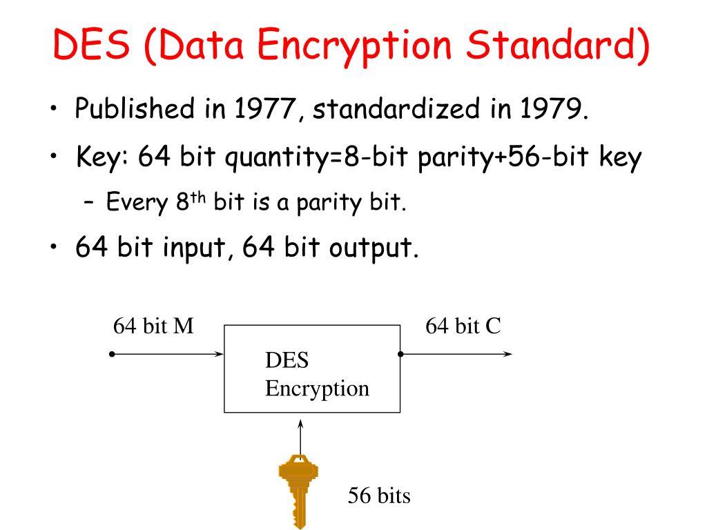 DES (Data Encryption Standard)