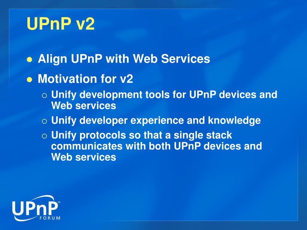 UPnP v2