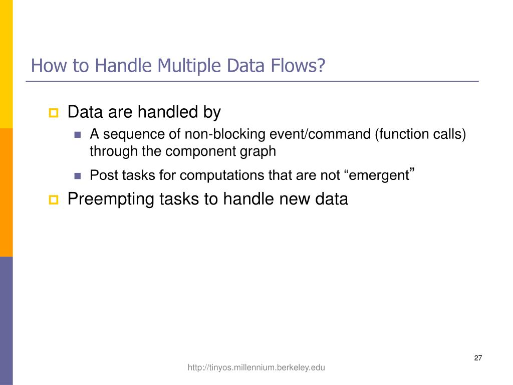 How to Handle Multiple Data Flows?