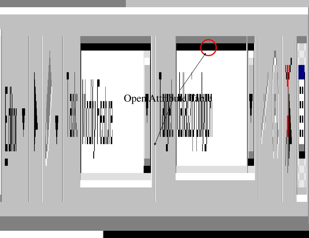 Open Attribute Table