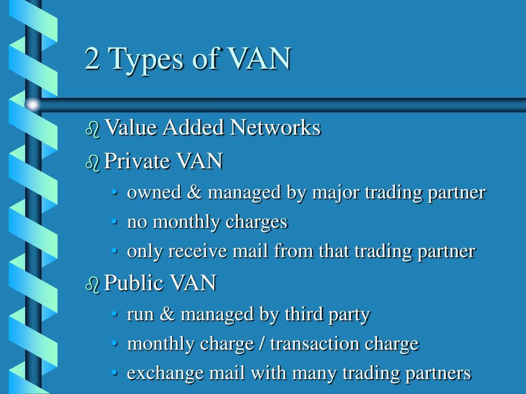 2 Types of VAN