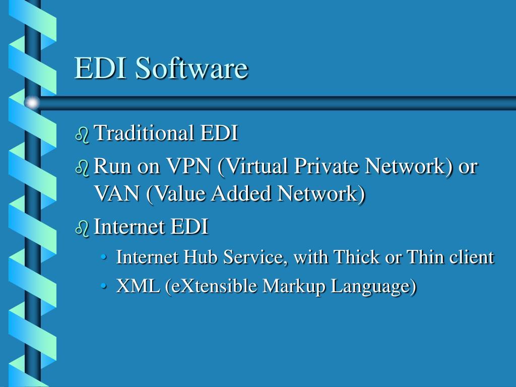 EDI Software