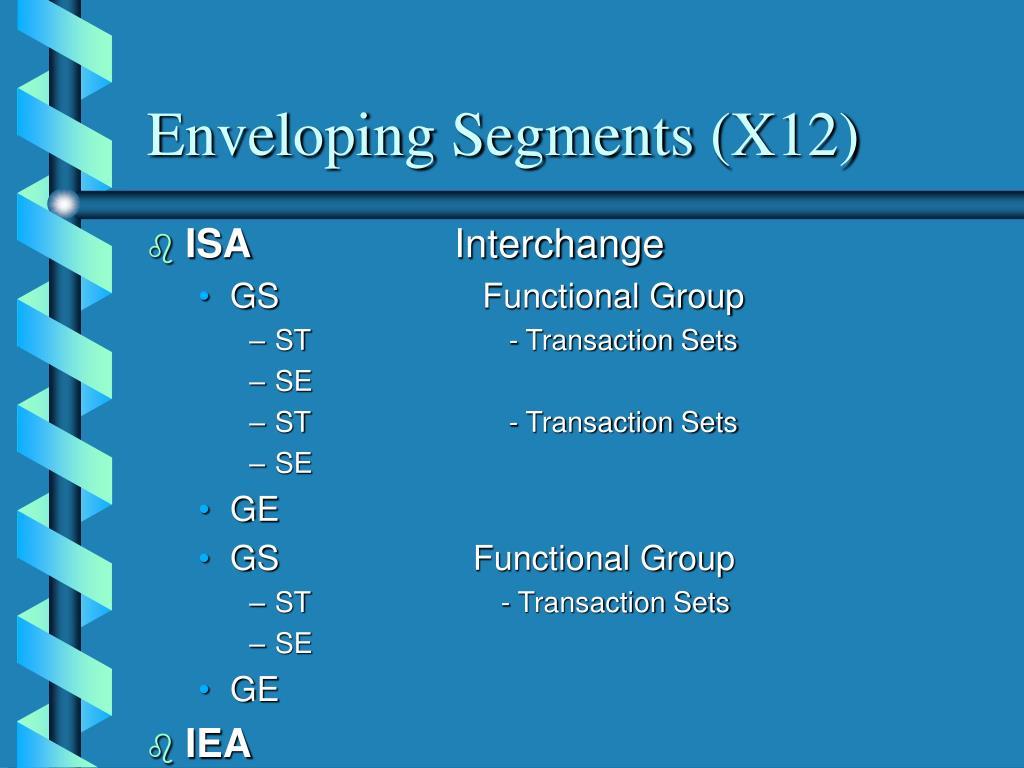 Enveloping Segments (X12)