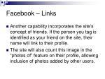 facebook links