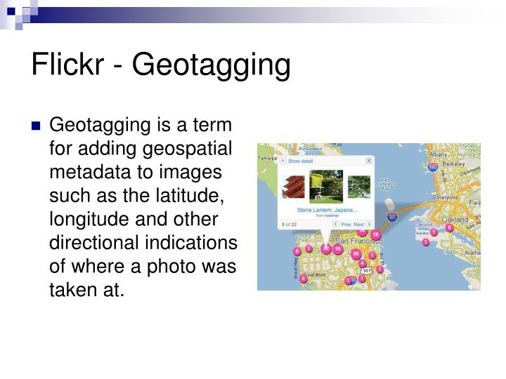Flickr - Geotagging