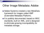 other image metadata adobe