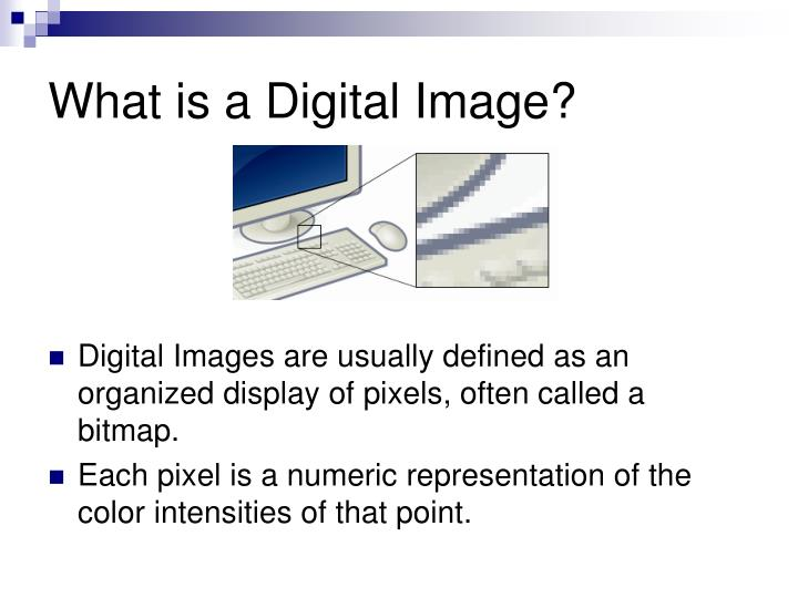 What is a digital image