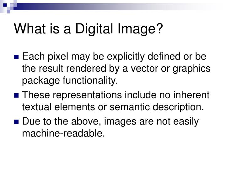 What is a digital image1