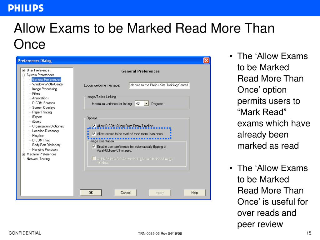 Allow Exams to be Marked Read More Than Once
