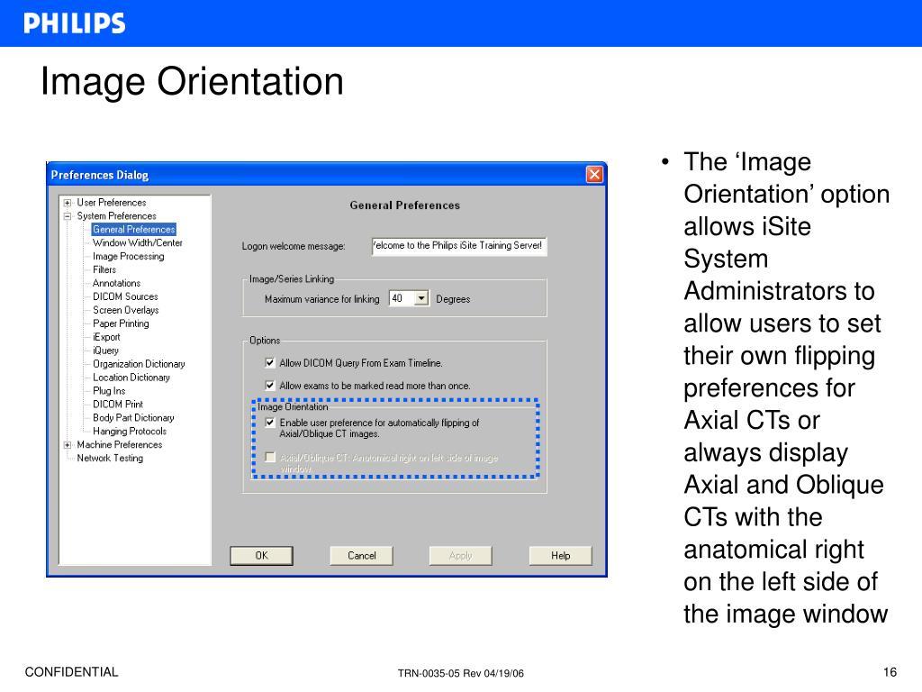 Image Orientation