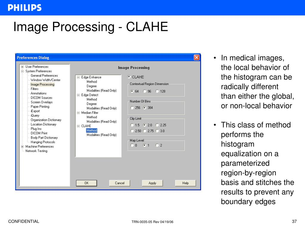 Image Processing - CLAHE