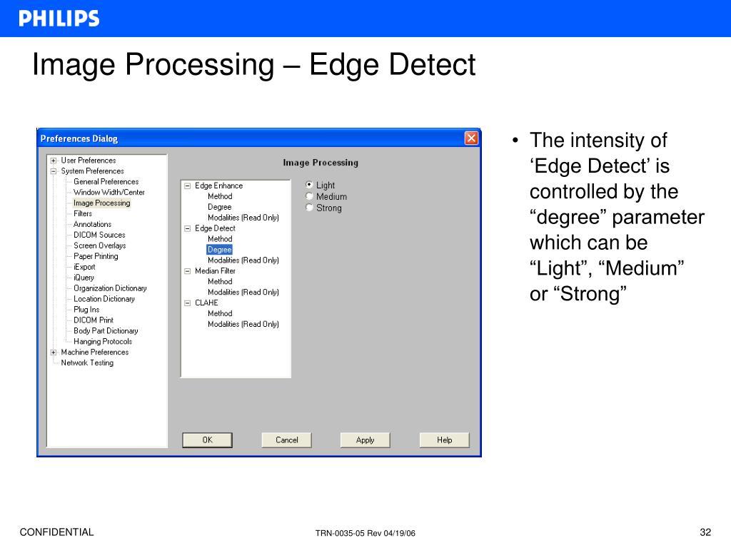 Image Processing – Edge Detect
