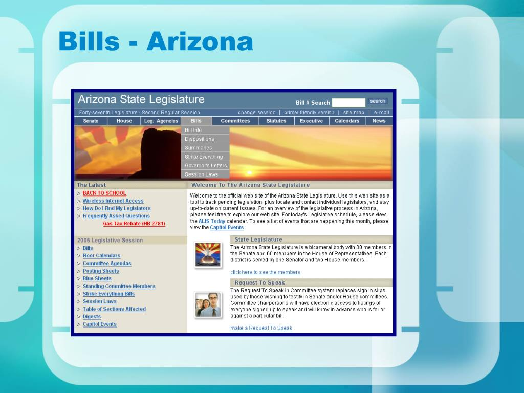 Bills - Arizona