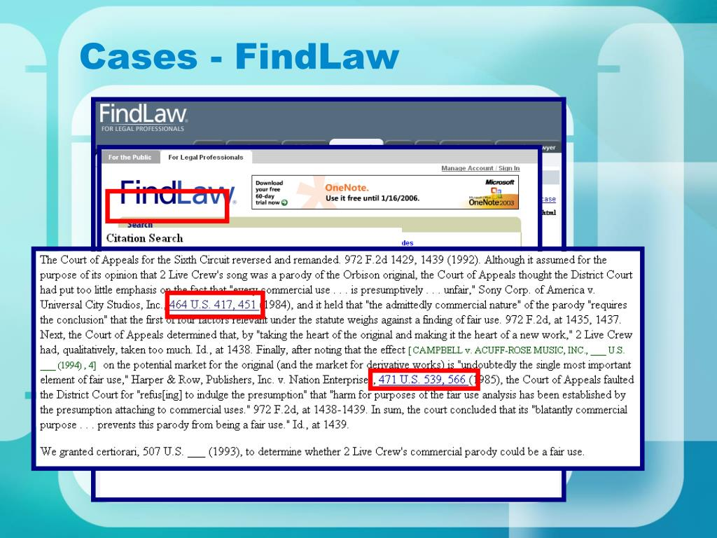 Cases - FindLaw