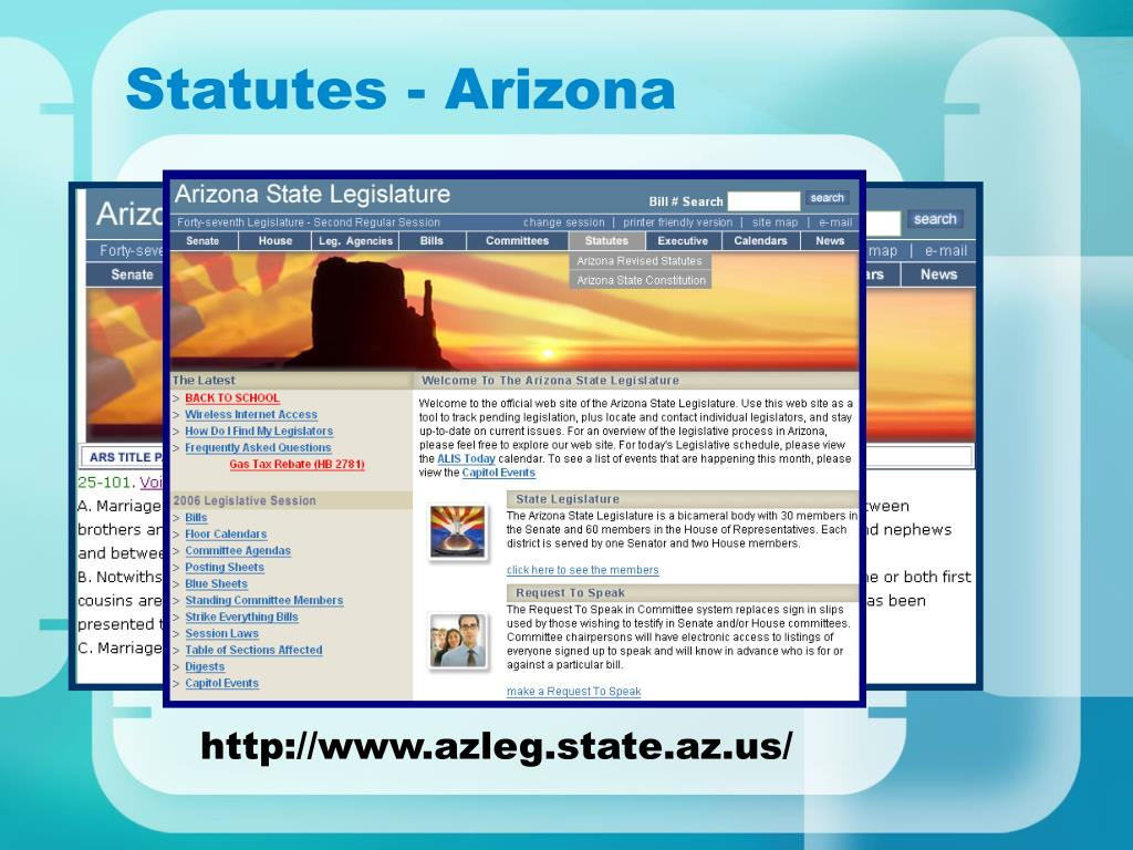 Statutes - Arizona