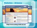 statutes arizona