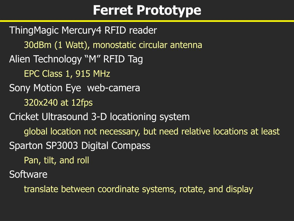 Ferret Prototype