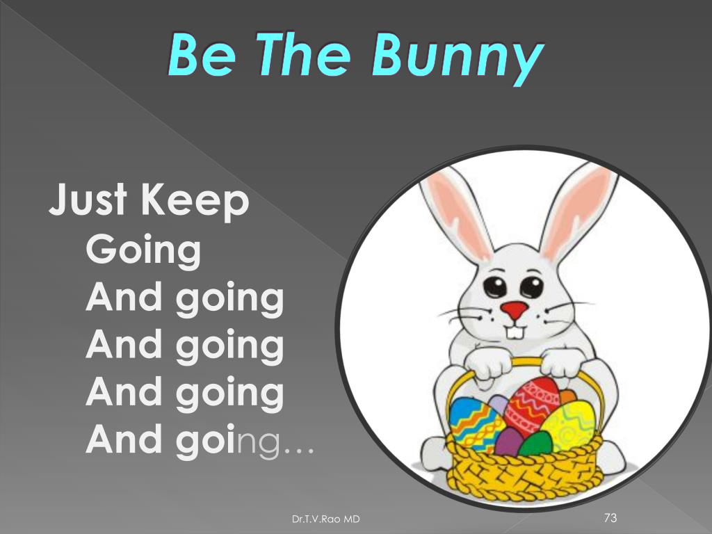 Be The Bunny