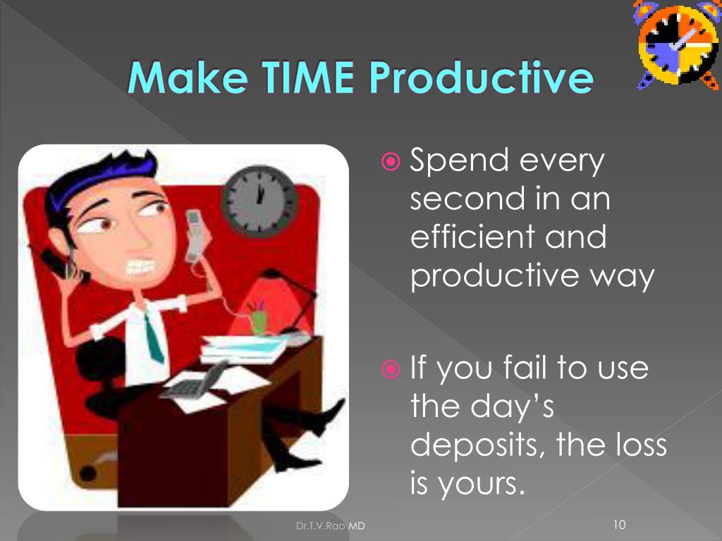 Make TIME Productive