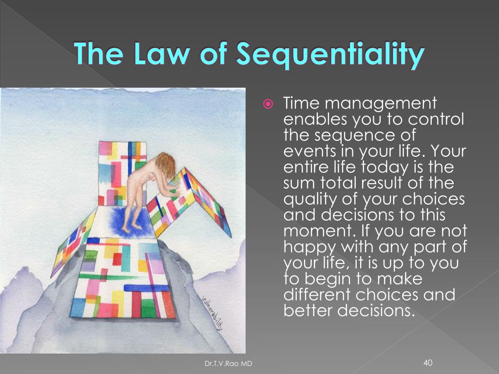 The Law of Sequentiality