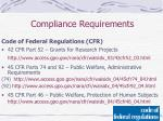 compliance requirements6