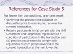 references for case study 535