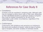 references for case study 845