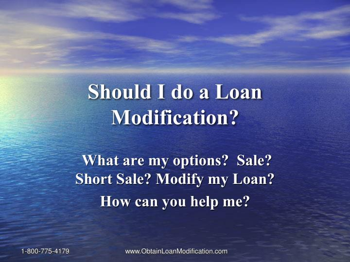 Should i do a loan modification l.jpg