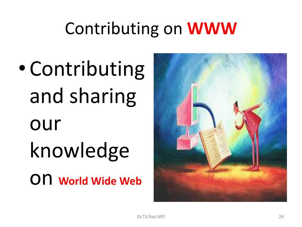 Contributing on