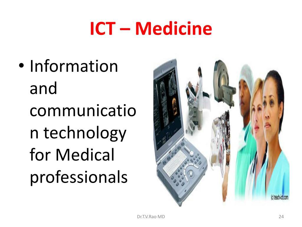 ICT – Medicine