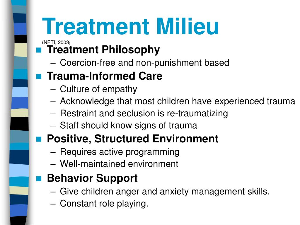 Treatment Milieu