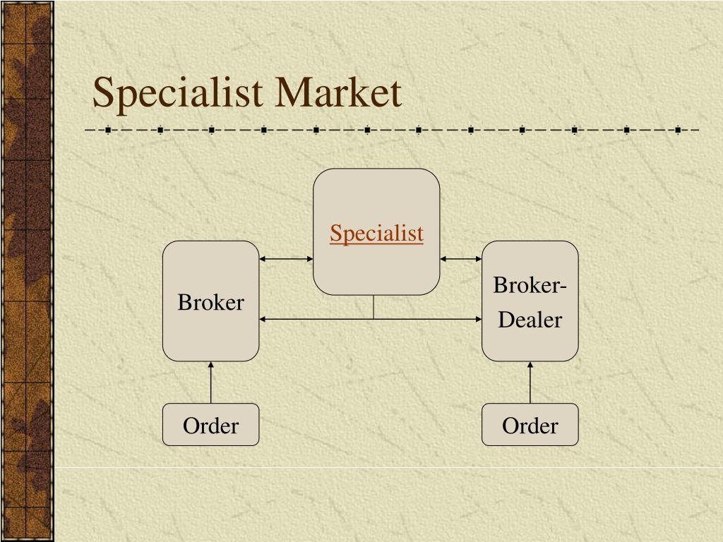 Specialist Market