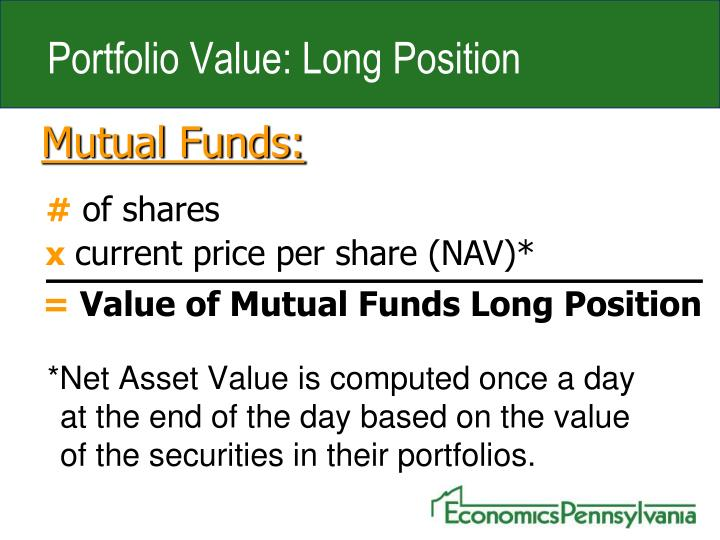Portfolio Value: Long Position