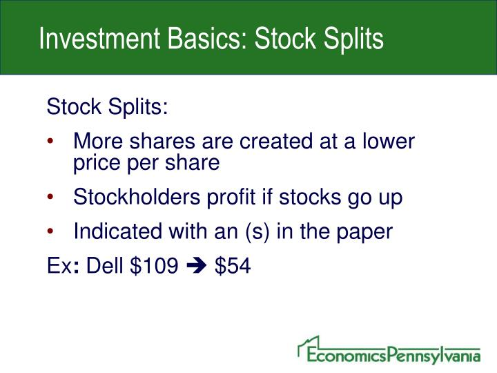 Investment Basics: Stock Splits
