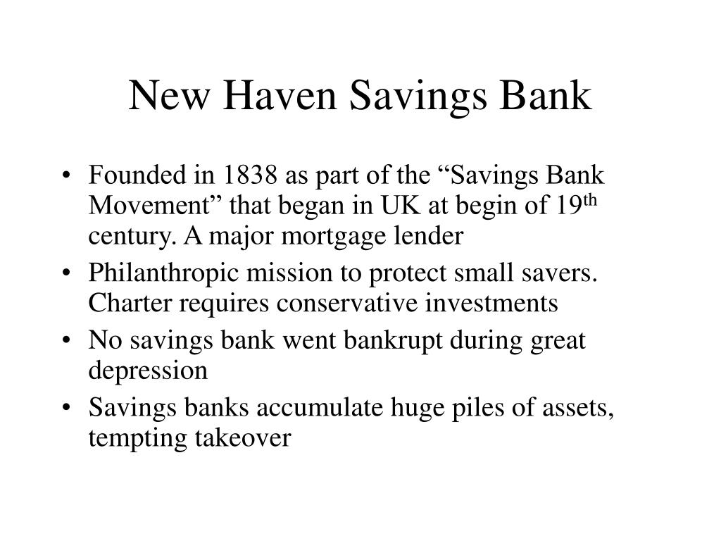 New Haven Savings Bank