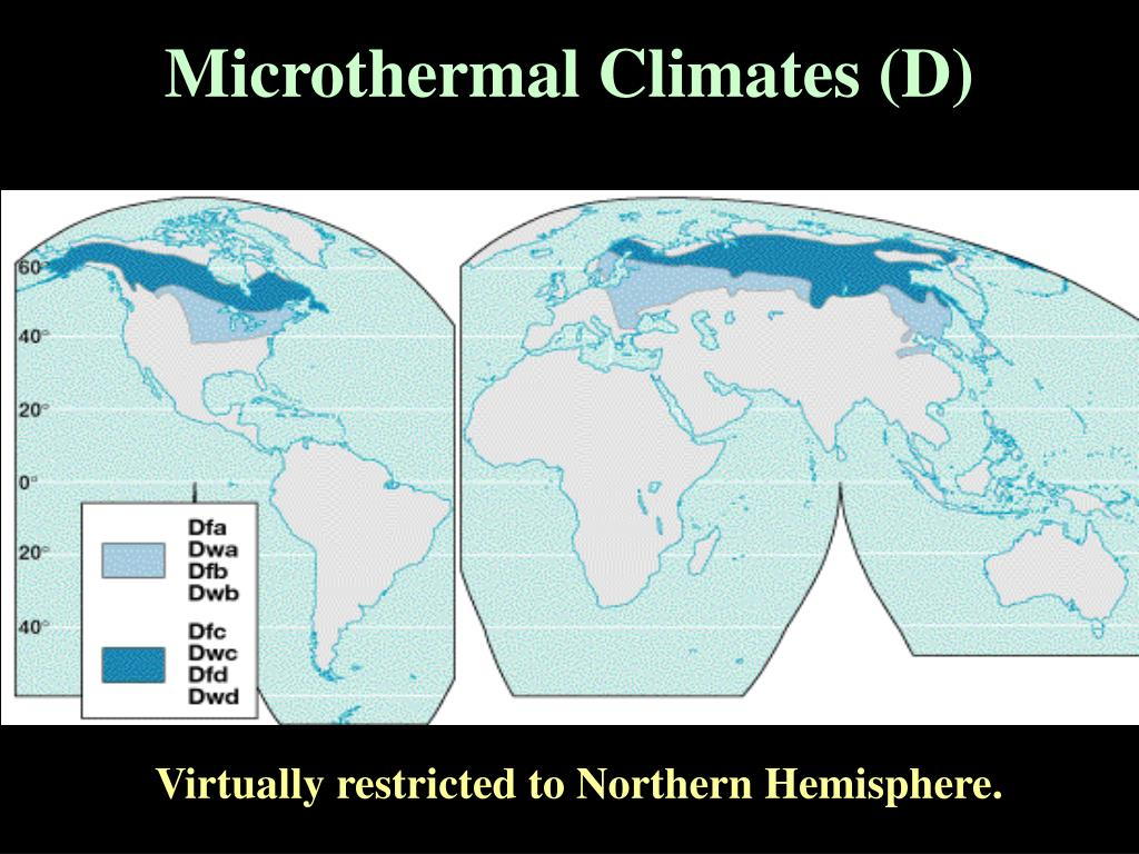Microthermal Climates (D)