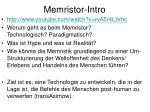 memristor intro