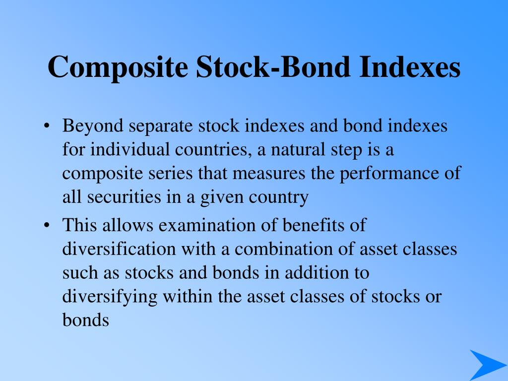 Composite Stock-Bond Indexes