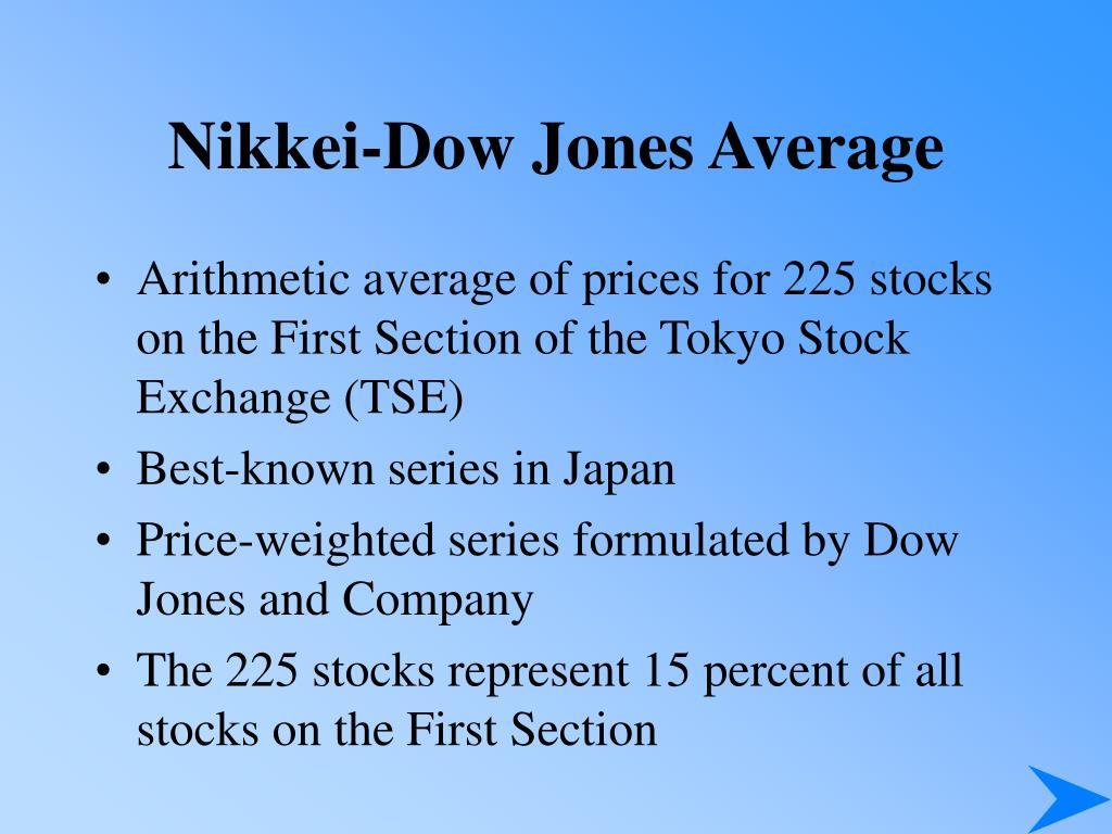 Nikkei-Dow Jones Average