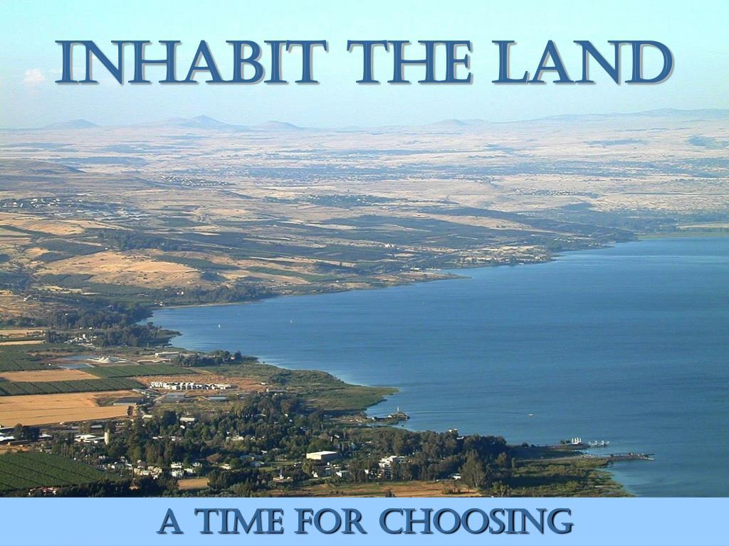 Inhabit the Land