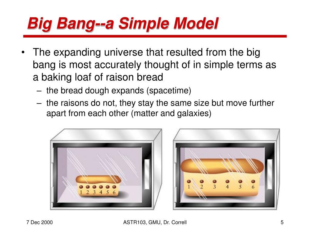 Big Bang--a Simple Model