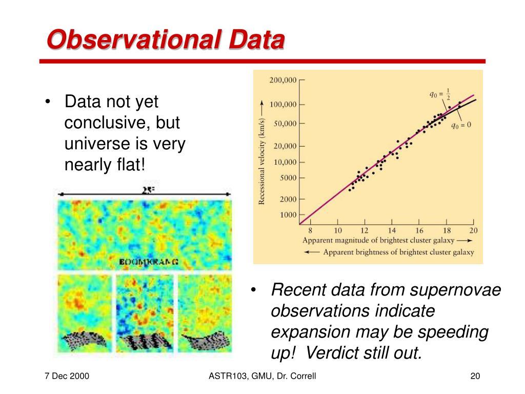 Observational Data