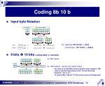 coding 8b 10 b12
