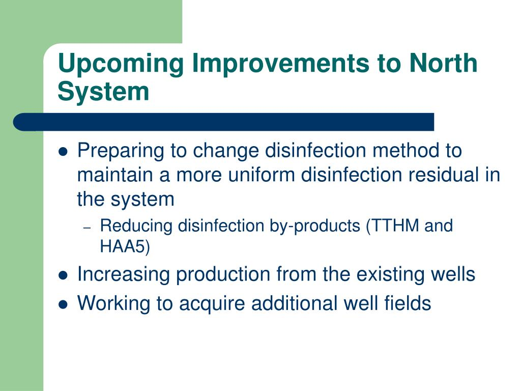 Upcoming Improvements to North System
