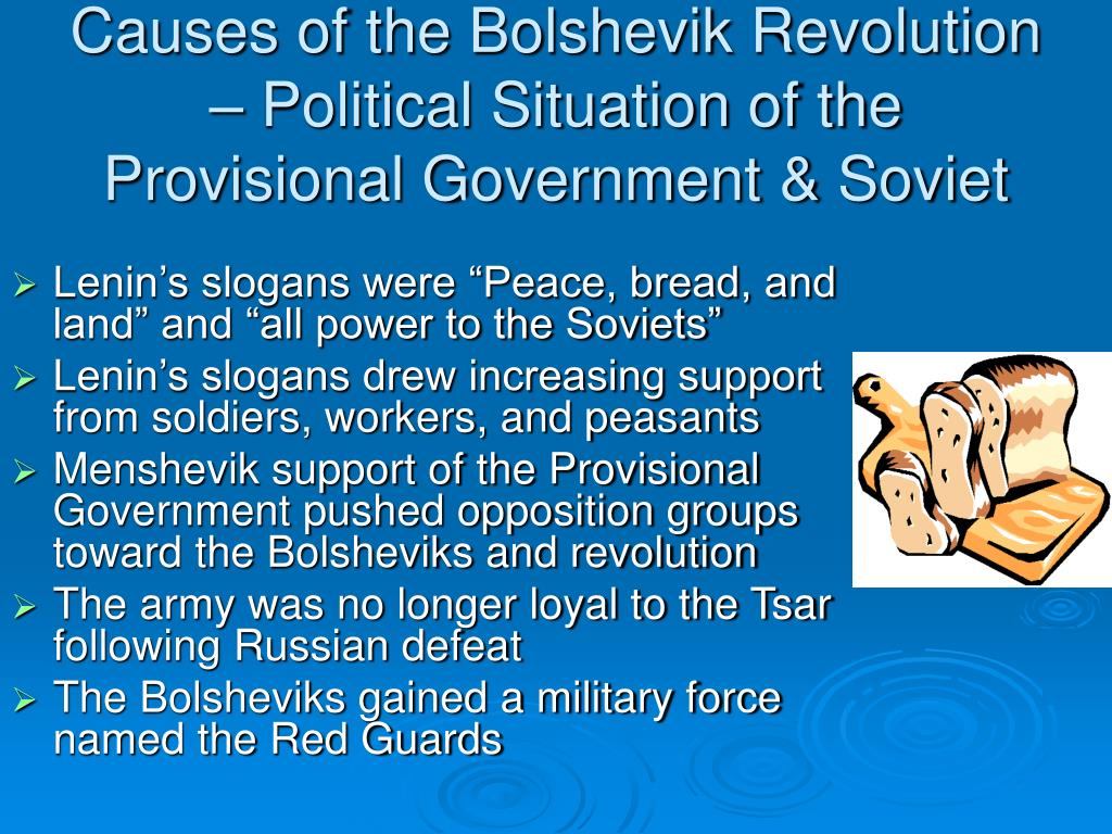 Causes of the Bolshevik Revolution – Political Situation of the Provisional Government & Soviet